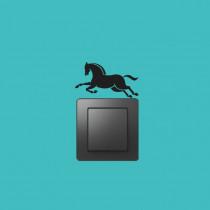 Stenska nalepka za stikalo Konj SE0010