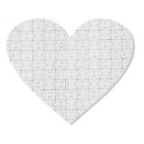 "Sestavljanka ""Jingsaw puzzle"" srce 19 x 18 cm 76 z vašim motivom"
