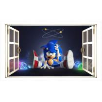 "Stenska nalepka ""Okno"" Sonic U1044"