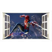 "Stenska nalepka ""Okno"" Spiderman U1045"