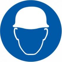 Znak Obvezna uporaba zaščitne čelade