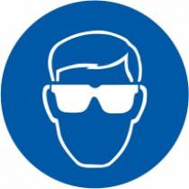 Znak Obvezna zaščita oči