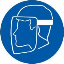 Znak Obvezna uporaba zaščitne maske za obraz