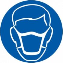 Znak Obvezna uporaba protiprašne zaščitne maske