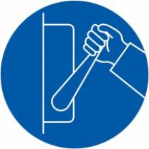 Znak Obvezno izključi kadar naprava ni v uporabi