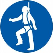 Znak Obvezna uporaba zaščitnega pasu