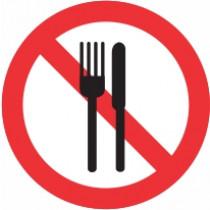 Znak Prepovedan vnos hrane