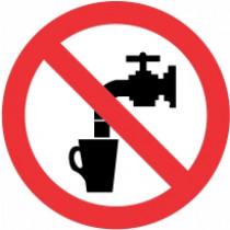 Znak Voda ni primerna za pitje