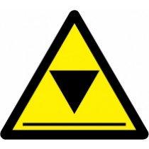 Znak Pozor! Nizek strop