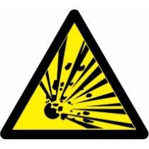 Znak Pozor! Nevarnost eksplozije