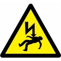 Znak Pozor! Smrtna nevarnost