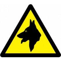 Znak Pozor! Psi čuvaji