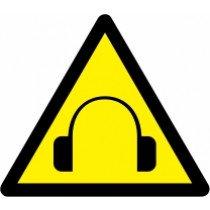 Znak Pozor! Visoka jakost hrupa