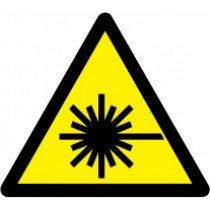 Znak Pozor! Laserski žarki