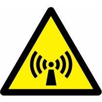 Znak Pozor! Neionizirajoče sevanje