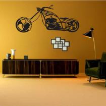 Dekorativne stenske nalepke Motocikli