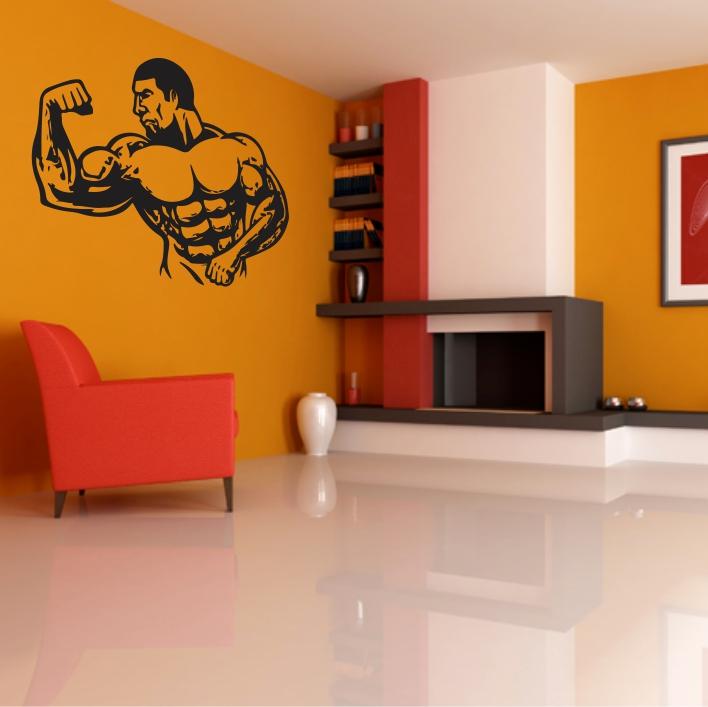 """Dekorativne stenske nalepke - špotni motivi """"šport"""""""