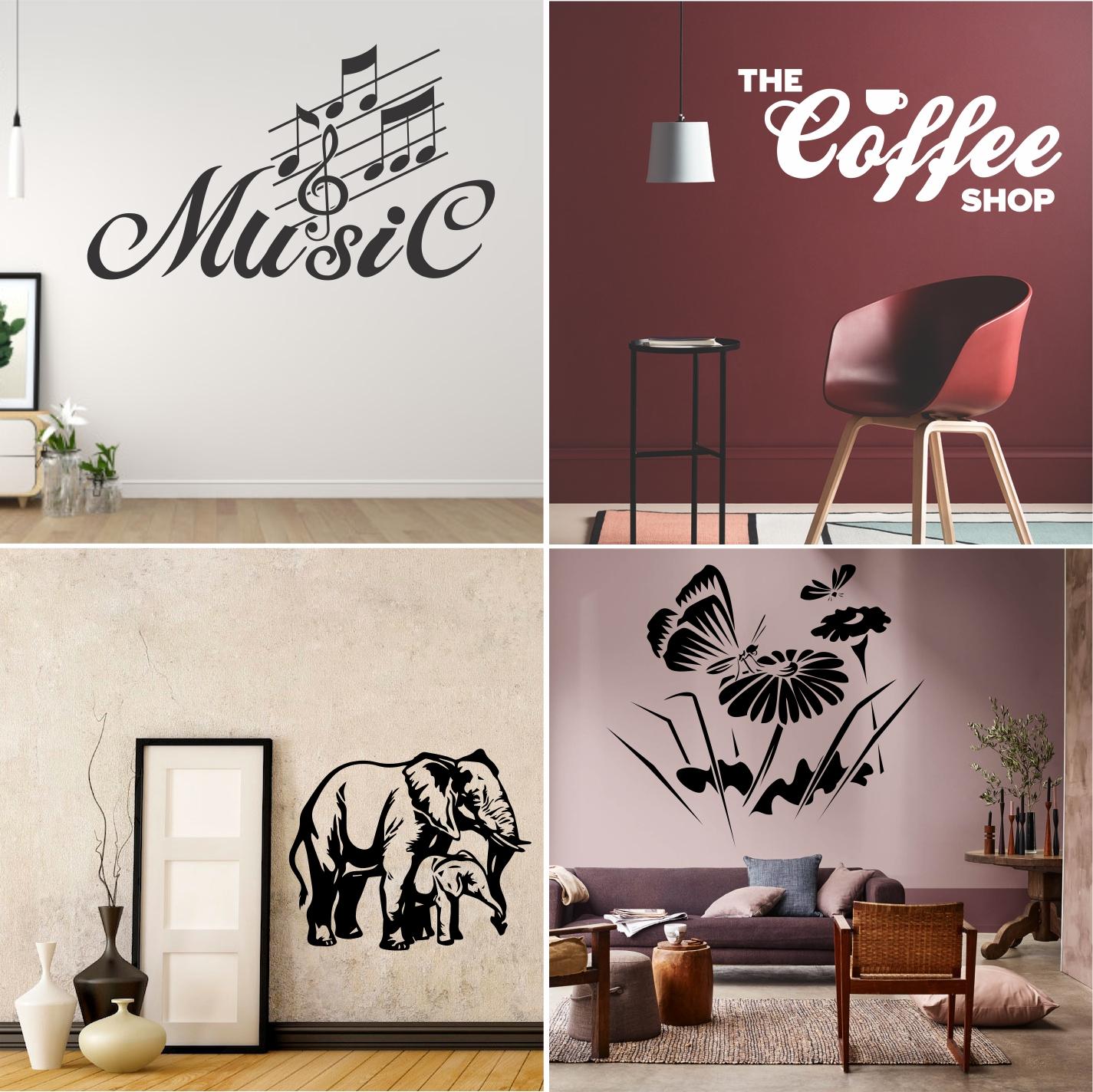 Razprodaja stenskih nalepk